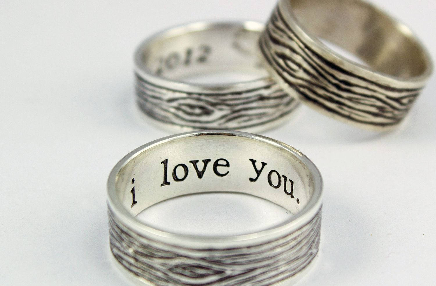 Unisex sterling silver ring silver promise ring Thick sterling silver ring Sterling silver wedding band