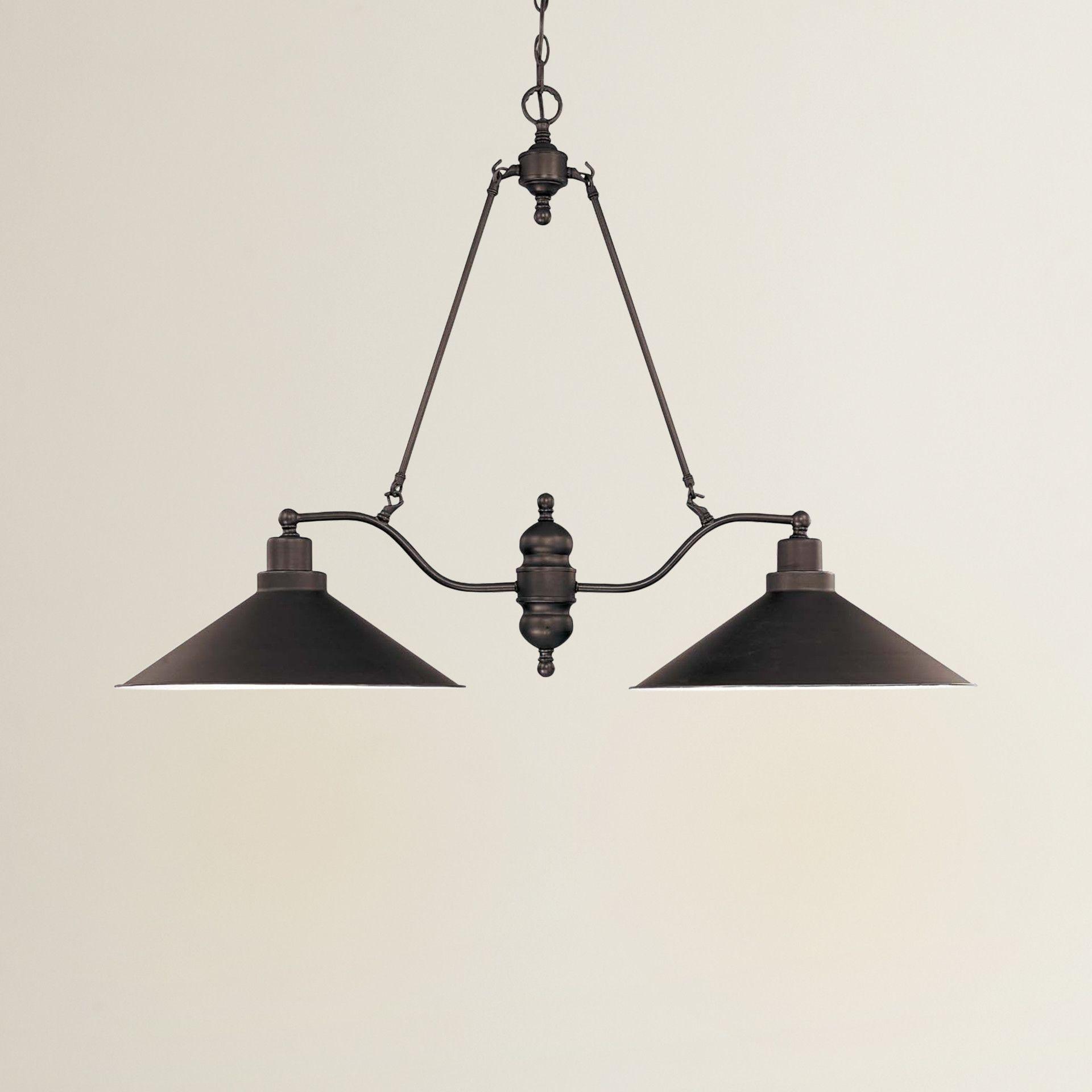 Trent Austin Design Anna 2 Light Kitchen Island Pendant