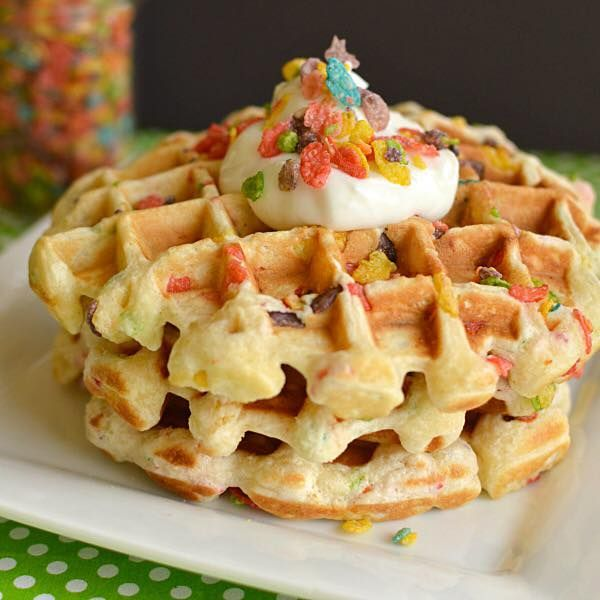 Bowl N Spoon Cereal Bar Waffle Recipes Waffle Iron Recipes Food