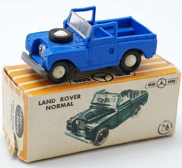 Land Rover 1/86 HO, Mini Cars by Anguplás (Spain), '60s