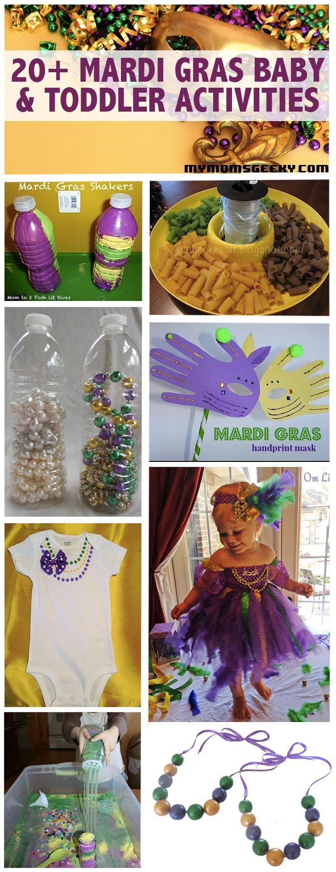 20 MARDI GRAS BABY  TODDLER ACTIVITIES 20 MARDI GRAS BABY  TODDLER ACTIVITIES