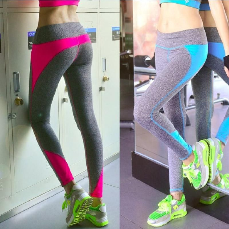 89b4889fe0 Wholesale cheap online, pants - Find best women running fitness tights  workout bodybuilding elastic gym dry quick leggings tights yoga sports long  pants 4 ...