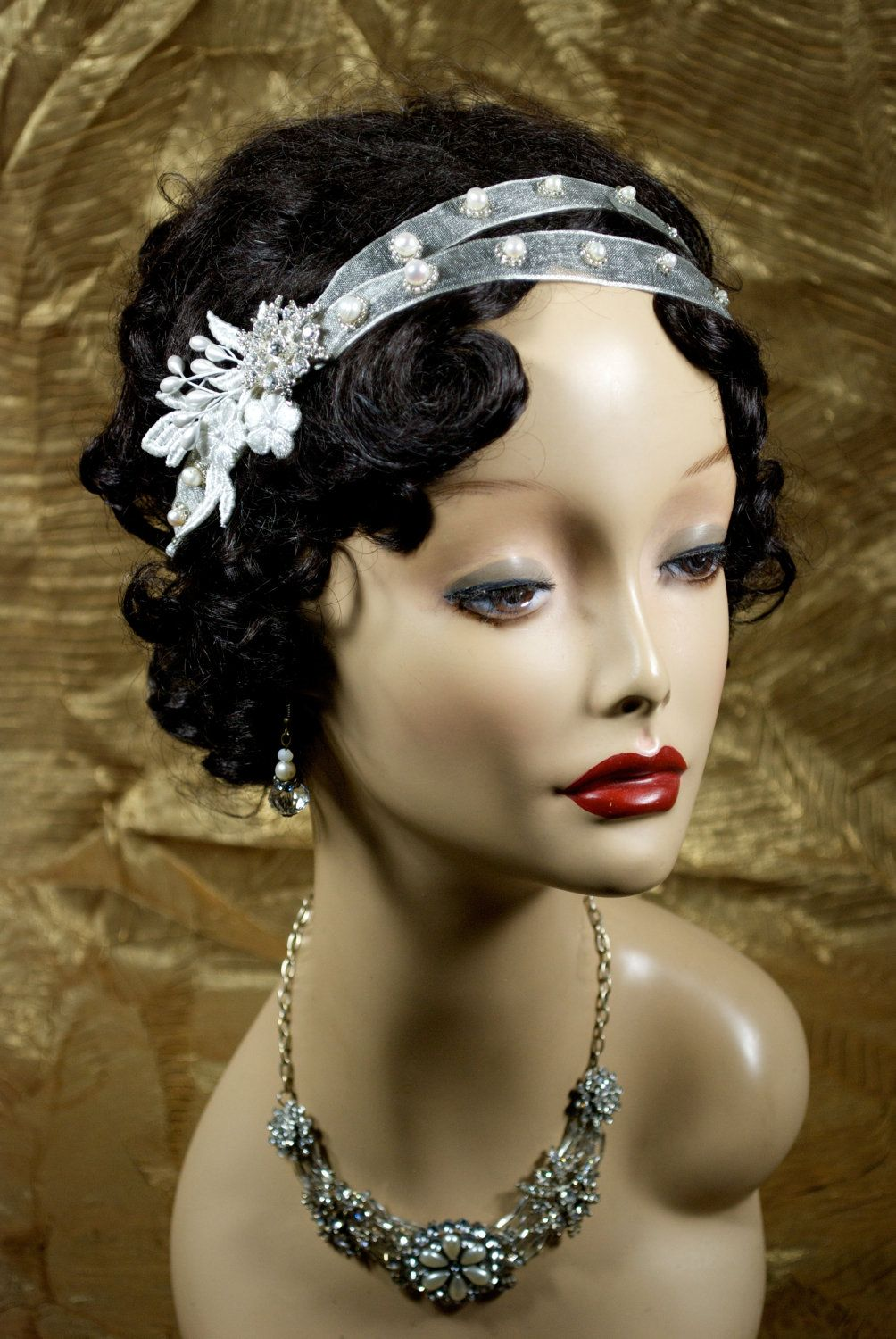 twenties style headbands - Google Search