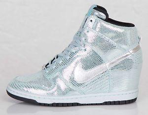 Nike Dunk Sky Hi QS Disco Ball Pack Metallic Silver Glacier Ice Size 8 5