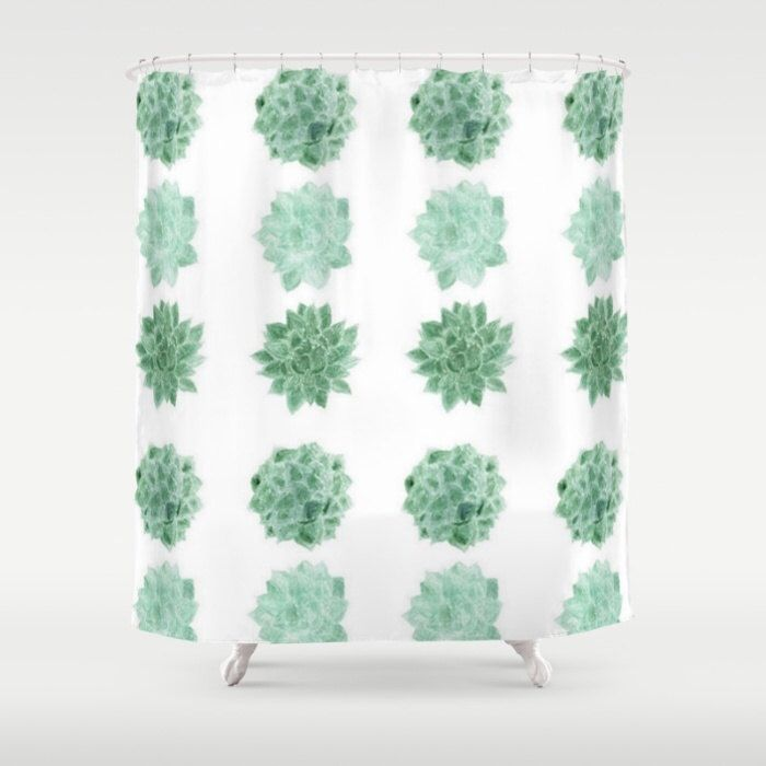 A Personal Favorite From My Etsy Shop Cactus Shower CurtainShower