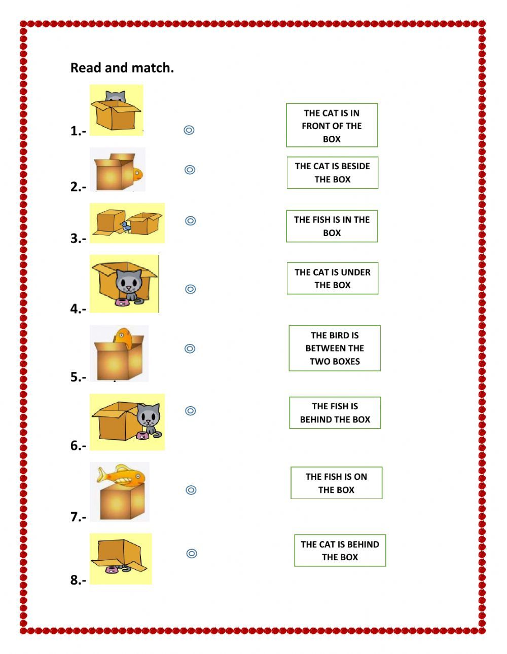 Prepositions of place interactive and downloadable