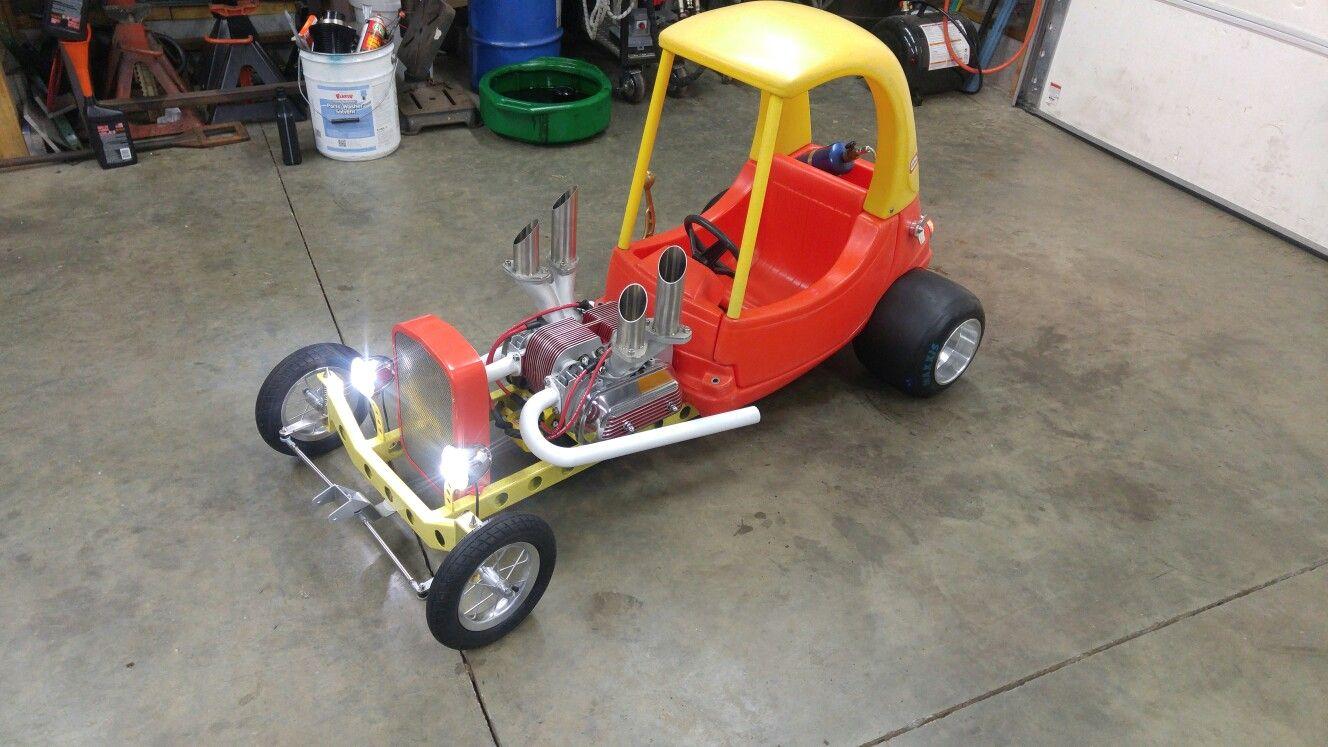 Cozy Coupe Rat Rod Wagon Cool Pedal Cars Kids Wagon Homemade