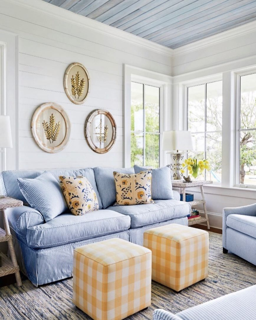 Denim Rag Woven Cotton Rug Dash Albert Living Room Design Inspiration Home Decor Living Room Scandinavian
