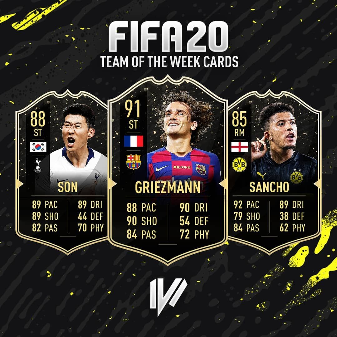 OMG I love FIFA 20 TOTW cards design! It's probably the