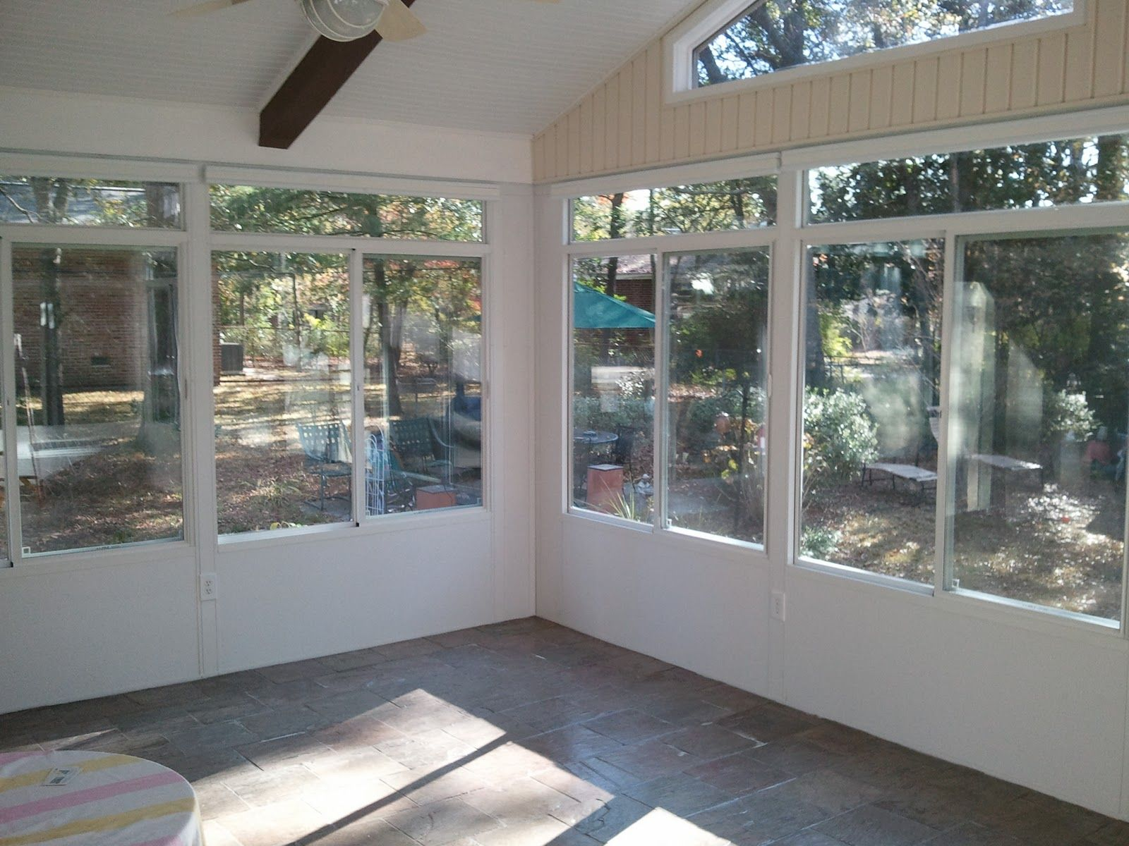 Patio Sunroom Porch Enclosures Glass Four Seasons