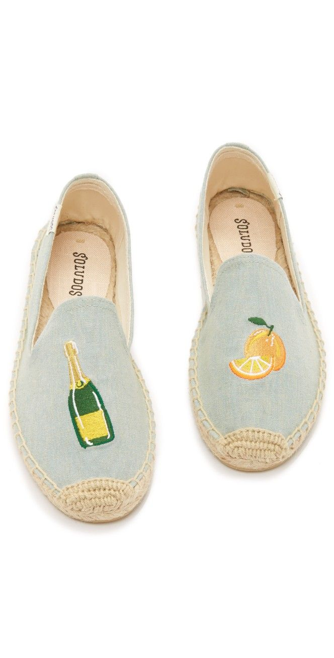 51d82a6a6943 Soludos Mimosa Embroidered Smoking Slipper Espadrilles