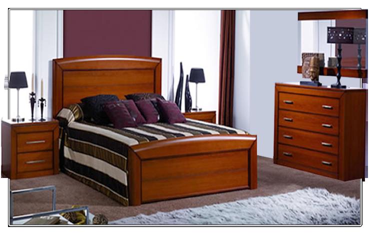 Dormitorio de Matrimonio de estilo Clásico formado por: - Cama ...