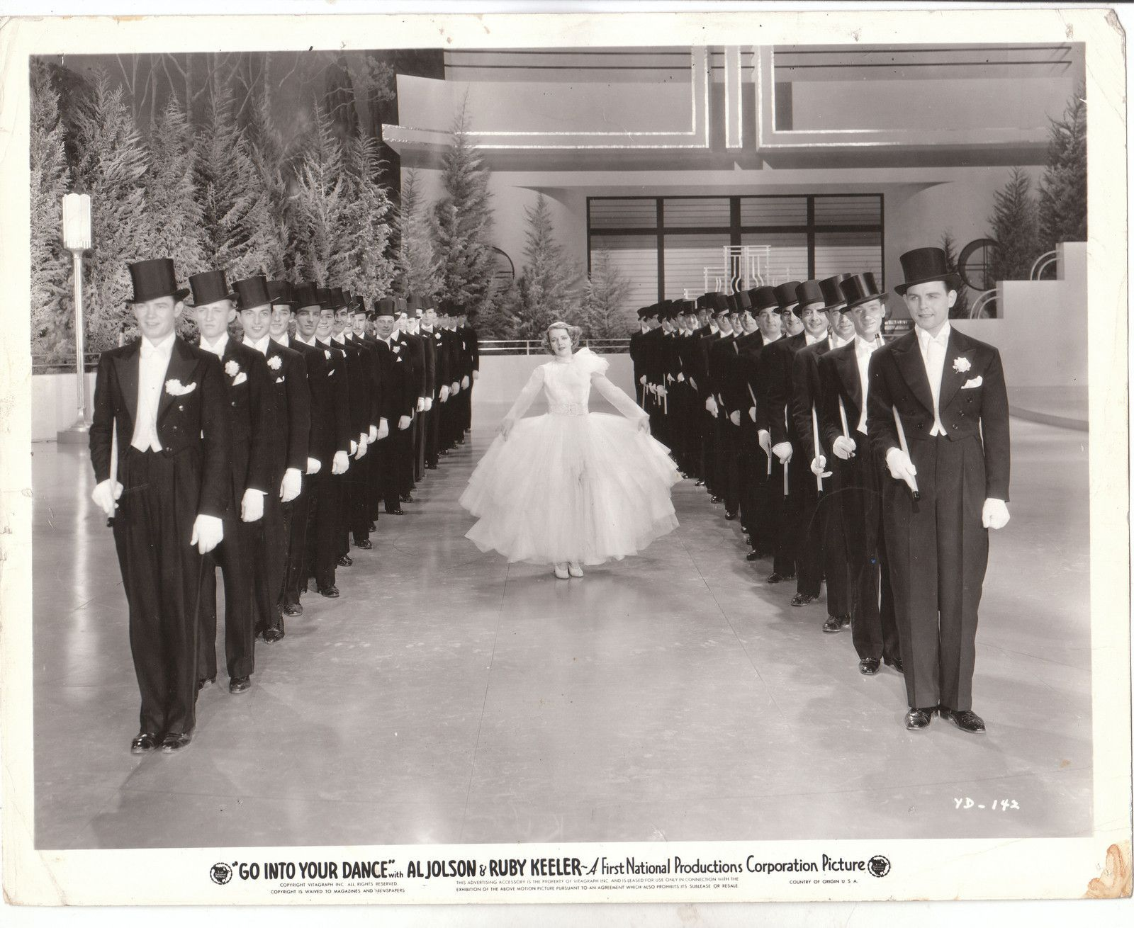 Al Jolson and Ruby Keeler in Got to Dance 1935 was a big production and did well.  Ruby's gowns were gorgeous.