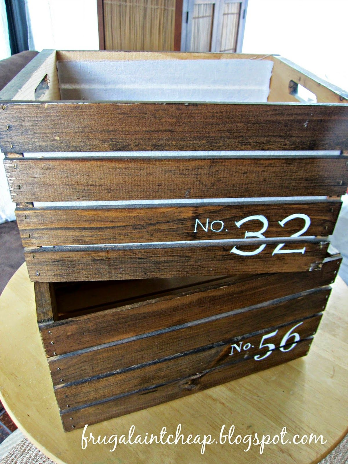 Cheap Wooden Crates Frugal Ain 39t Cheap Fabric Lined And Painted Pine Wooden