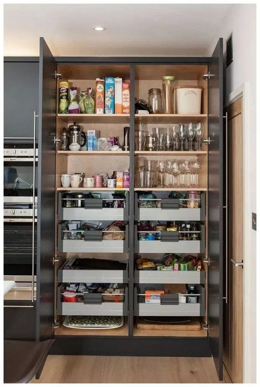 60 creative ideas and designs for the kitchen pantry 2019 Page 7 - Everyone from .., #creati...