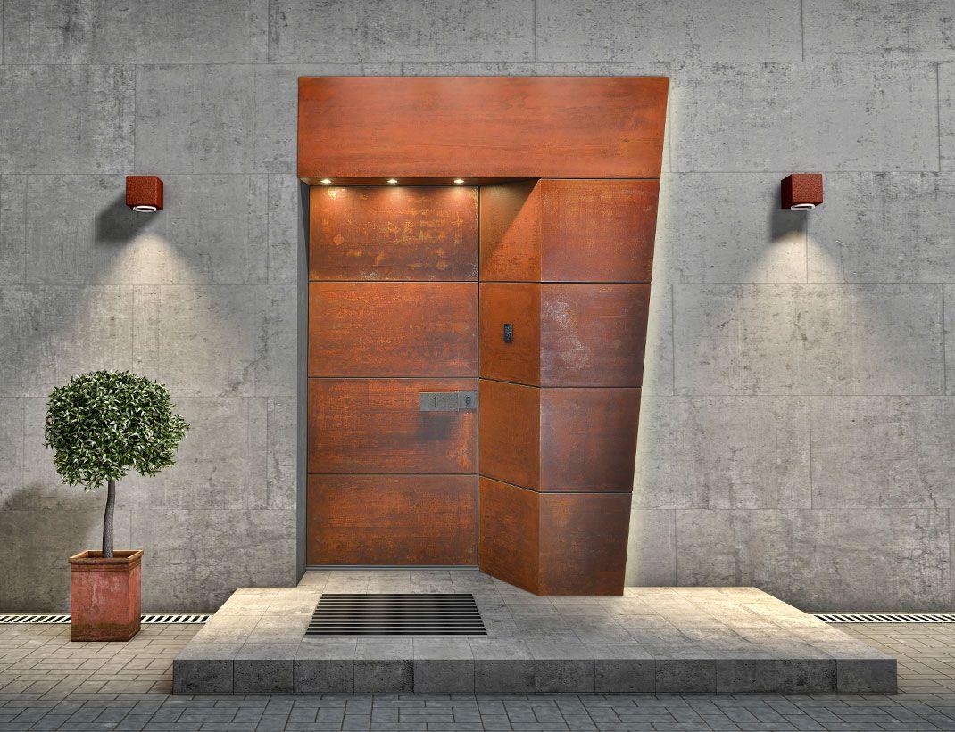 Front door with TITAN steel