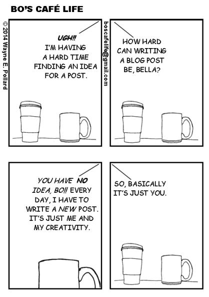 Blogging Blues - Writers Write Creative Blog