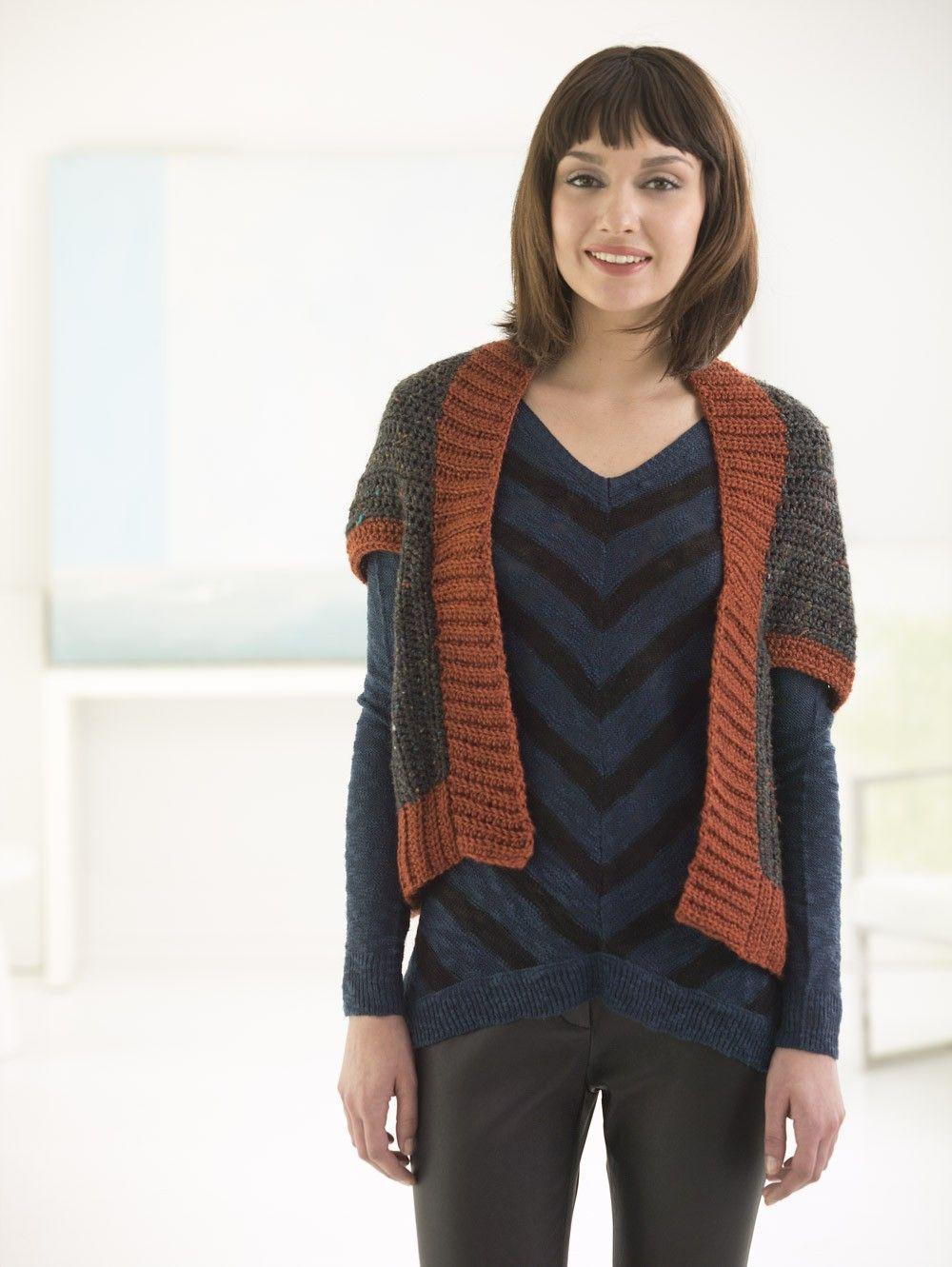 Hayward Shrug | Crochet | Pinterest | Labores, Blusas y Tejido