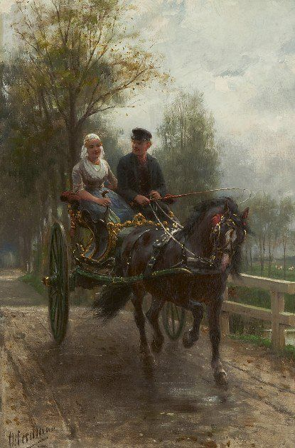 Otto Eerelman (1839 – 1926) – Pintor Holandês_12