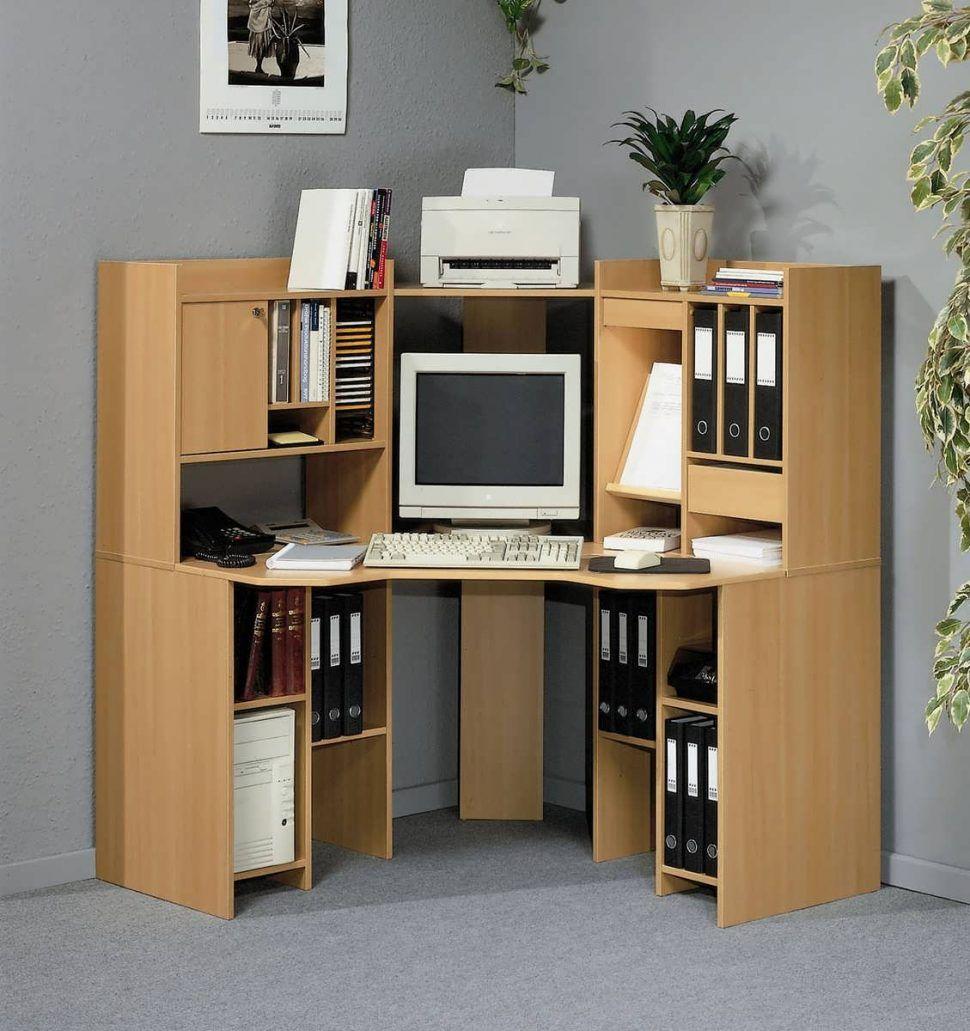 Corner Desk Computer Workstation