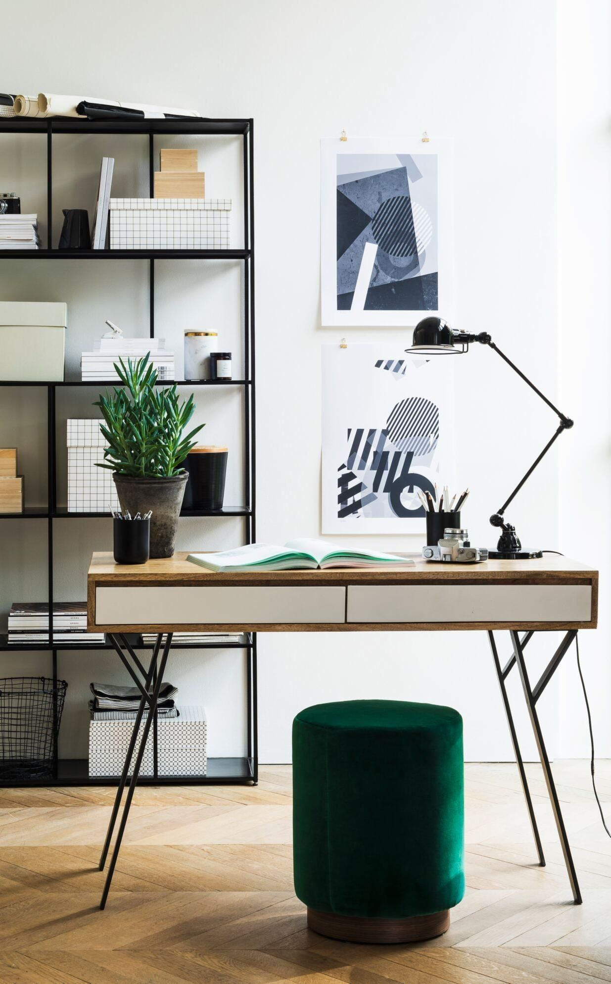 Create an organised work space at home with the Mickey desk, Penfold ...