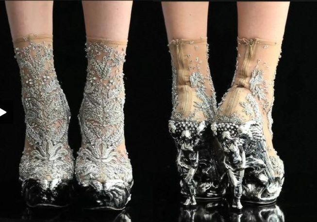 Jean Paul Gaultier Shoes - Front and Back