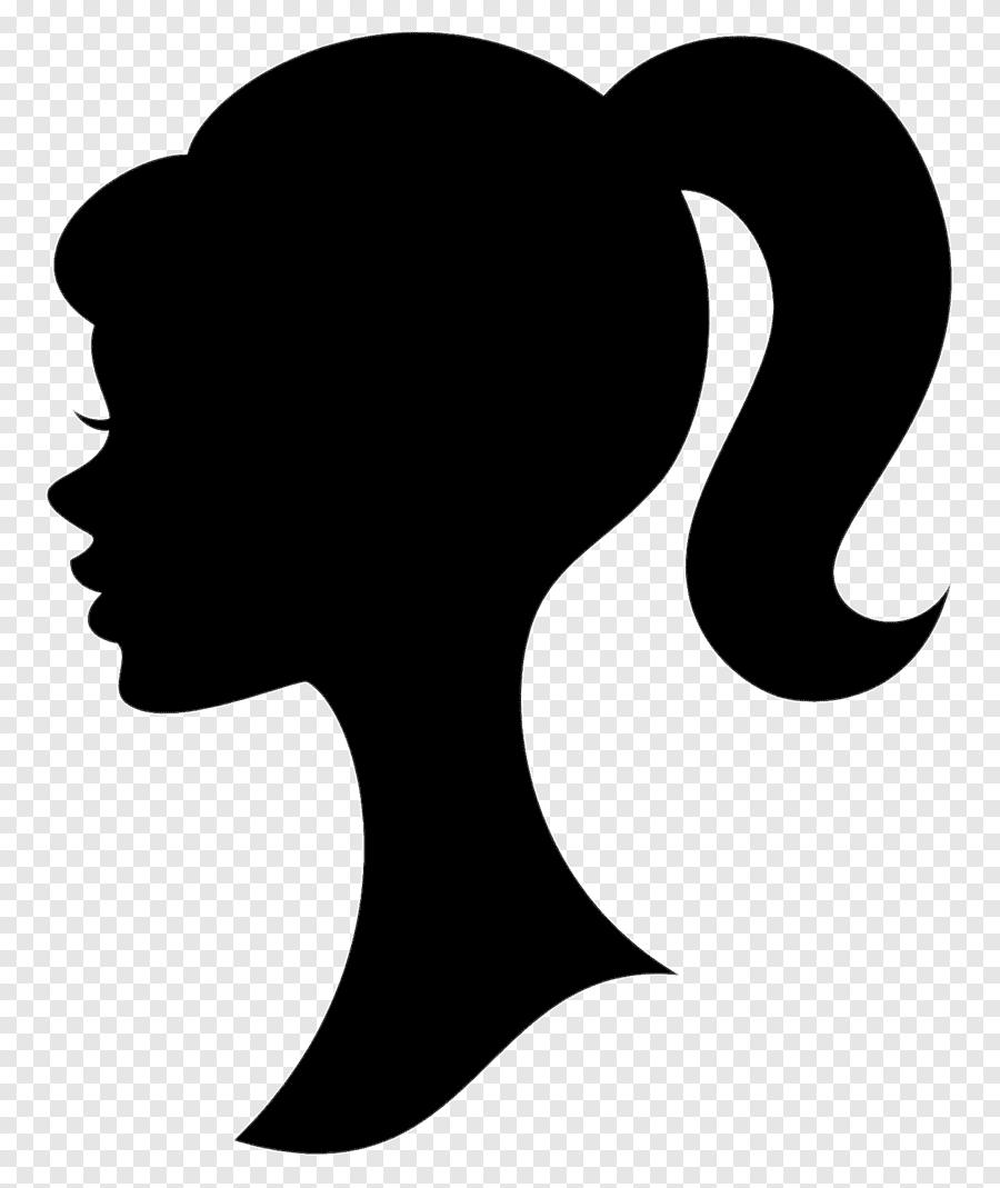 Barbie Silhouette Silhueta De Cabelo Logotipo Barbie Silhouette Barbie Logo Drawings