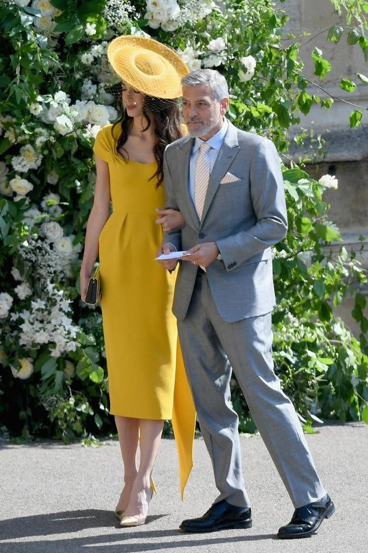 Meghan And Harry S Royal Wedding Guest Outfits Who What Wear Uk