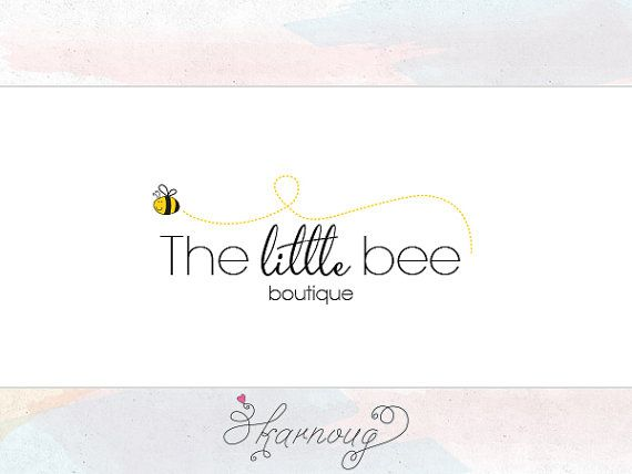 Custom, Premade, Bee Logo Design, Photography or Boutique Logo