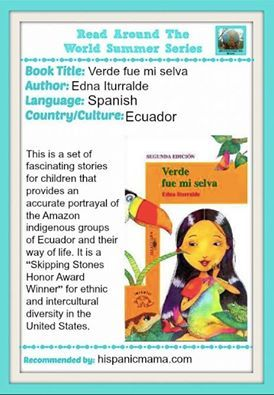 Rainforest books for elementary students