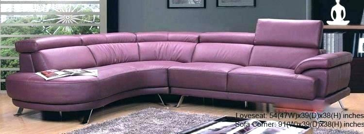 Purple Couch Living Room Purple Leather Couch Relaxing ...