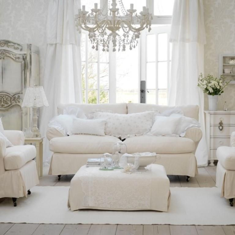 Estremamente Distressed Shabby Chic Living Room Designs To Inspire  TZ09