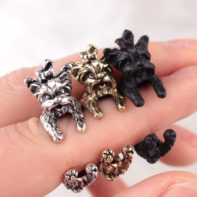 Cute Cuddly Yorkshire Terrier Ring **LIMITED SUPPLY**