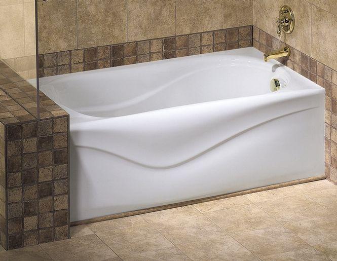 Vichy A 6032 Bathtub with Apron for Alcove Installation - Maax ...