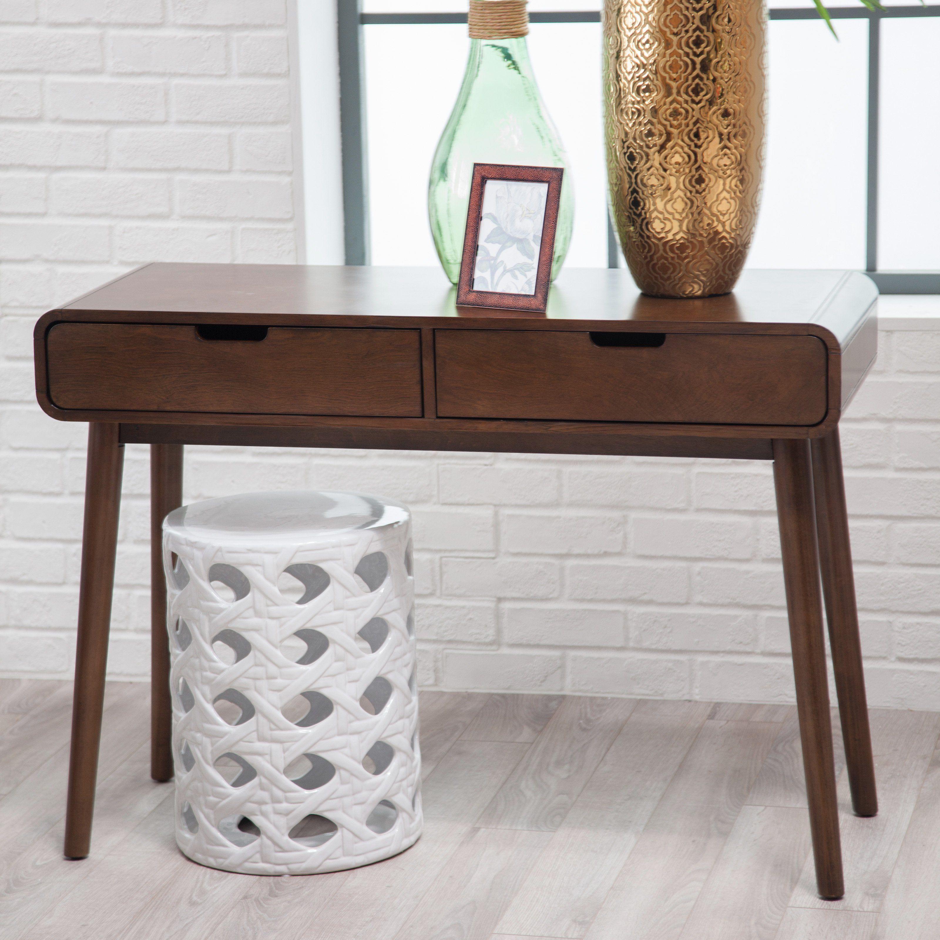 Groovy Belham Living Carter Mid Century Modern Console Table Gamerscity Chair Design For Home Gamerscityorg