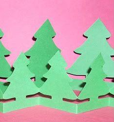Paper Christmas Craft Vintage Christmas Tree Christmas Art Christmas Paper