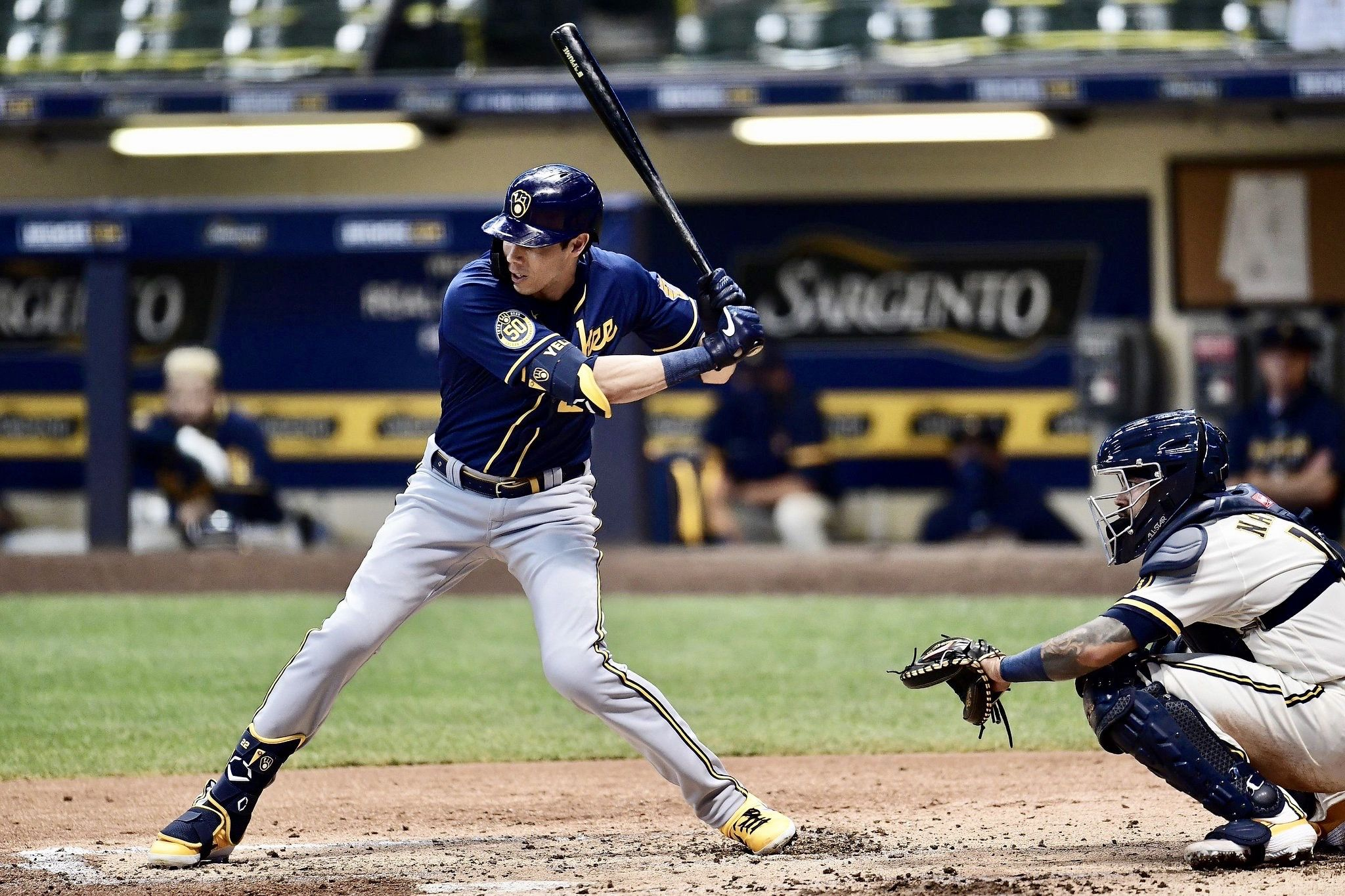 Pin By Maddie On Thisismycrew In 2020 Christian Yelich Christian Cute