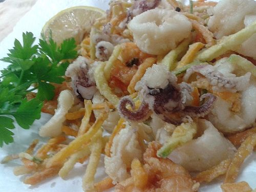 Fritto Di Pesce Gourmet Only Pinterest Frittata E Pesce