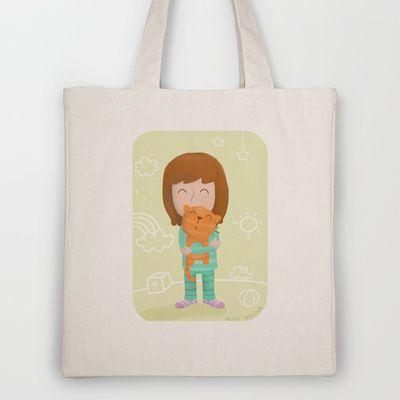 Stripes Tote Bag by Rita Balixa - $18.00