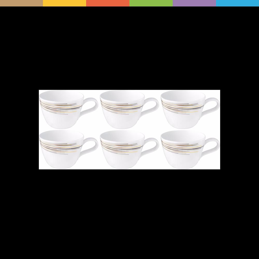 Seltmann Weiden Kaffeetasse Boston 0.24 l, 6 Stück.