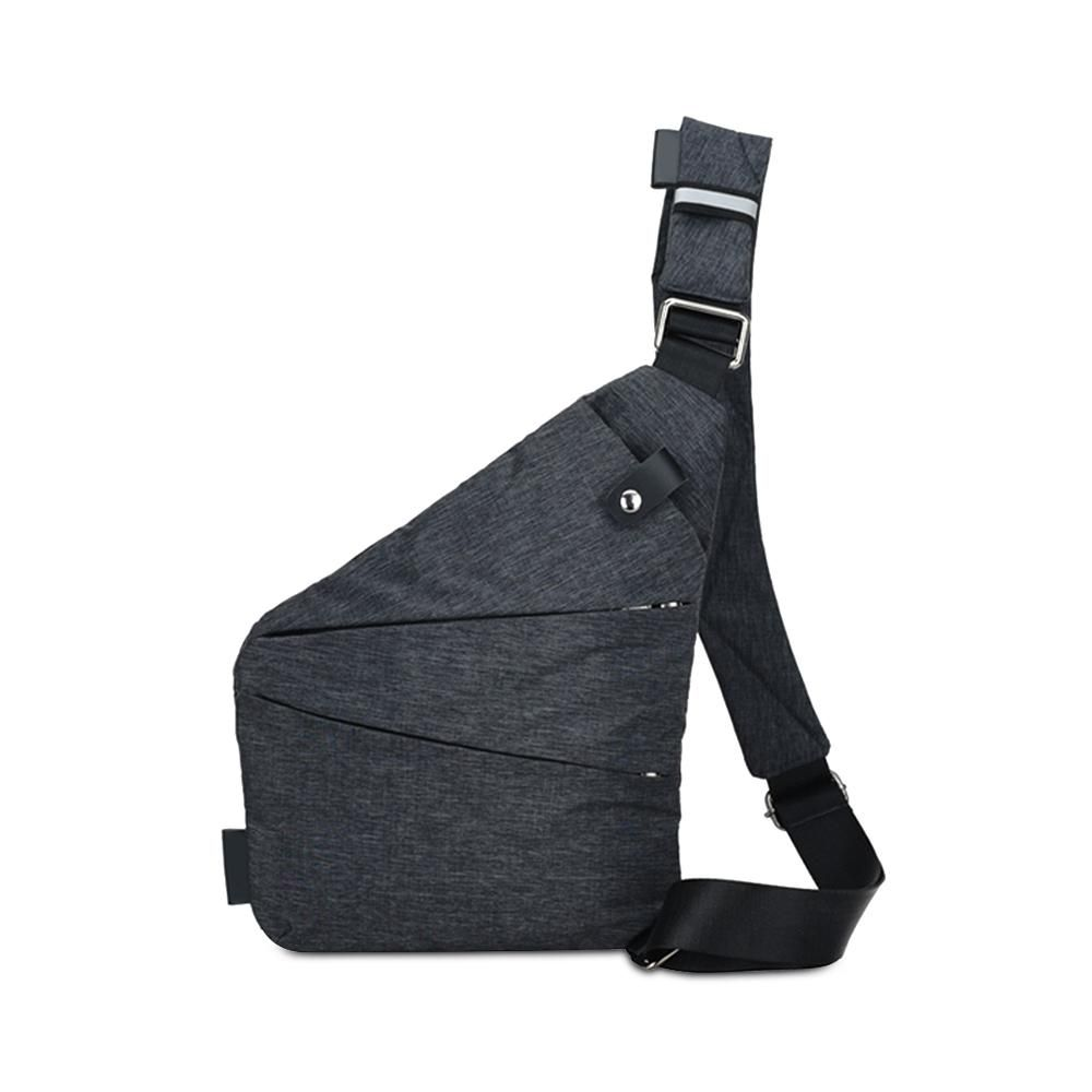 87147a035cf Crossbody Bags-New Arrival Casual Man Sling Canvas Chest Bag ...