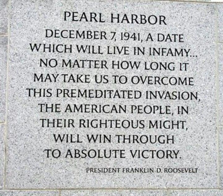Pearl Harbor Quotes | Remembering Pearl Harbor Inspiration Pinterest Pearl Harbor