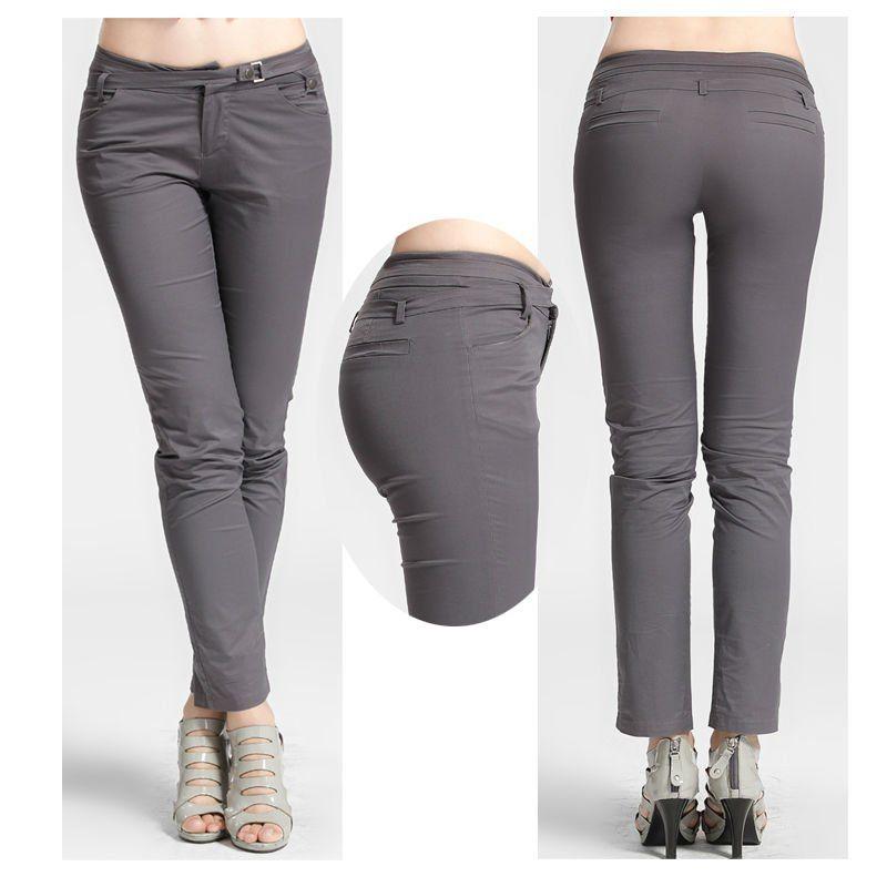 Imagenes De Pantalones Formales Para Mujer Capri Pants Pants Grey Jean
