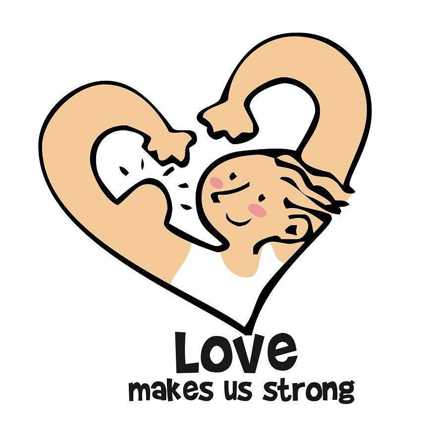 Love make us strong. #illustration by @nataliaresnik  T-shirt available at ilusos.es