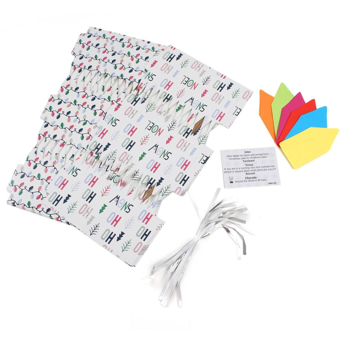 Make your own christmas lights cracker kit 6 pack hobbycraft make your own christmas lights cracker kit 6 pack hobbycraft solutioingenieria Choice Image