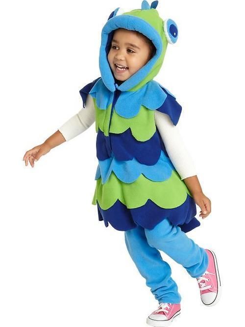 Fish costume old navy 13 mighty junior pinterest for Puffer fish costume