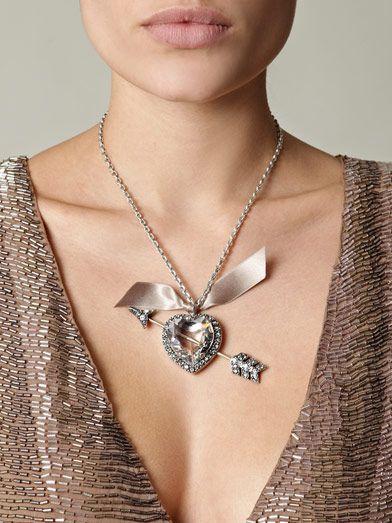 LANVIN  Swarovski wedding necklace  £334.00