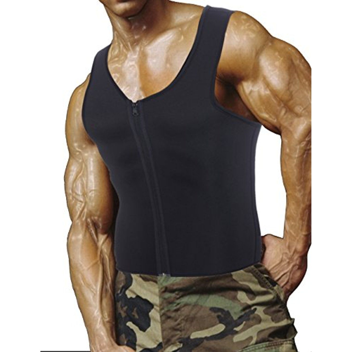 cf296b9fbd2b Men Body Slimming Tummy Shaper Belly Shapewear Waist Girdle shirt Vest **  See this great product. (This is an affiliate link and I receive a  commission for ...
