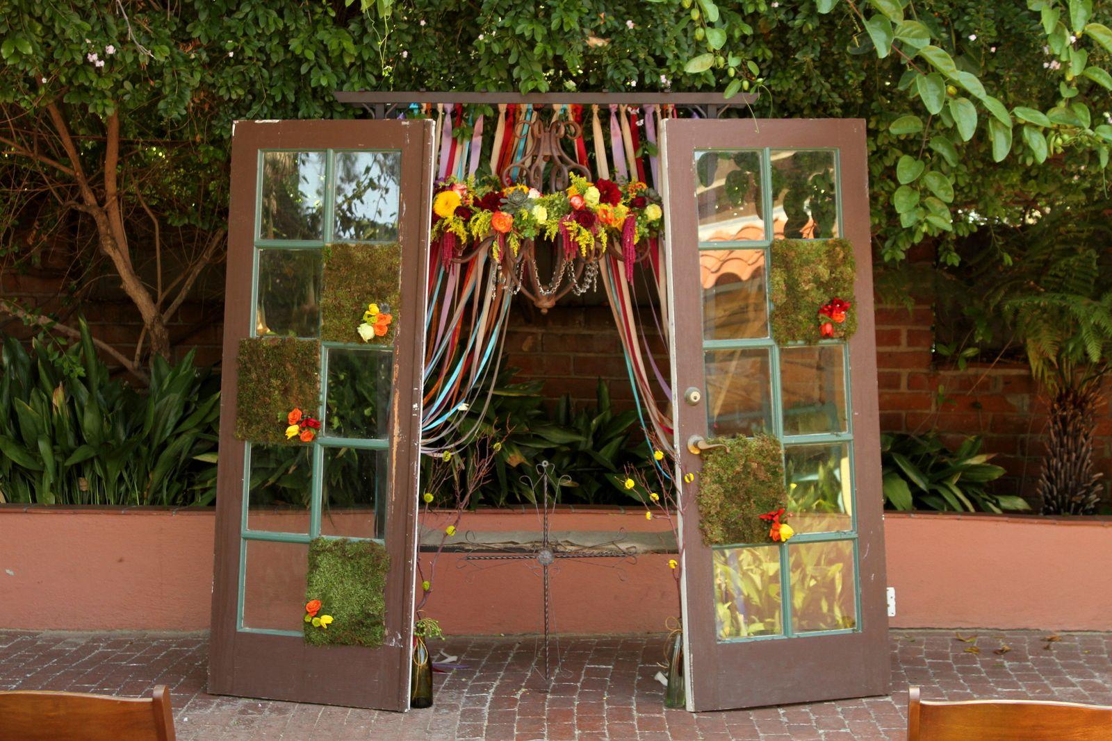 Ceremony El Adobe San Juan Capistrano   The Tangled Vine Designs ...