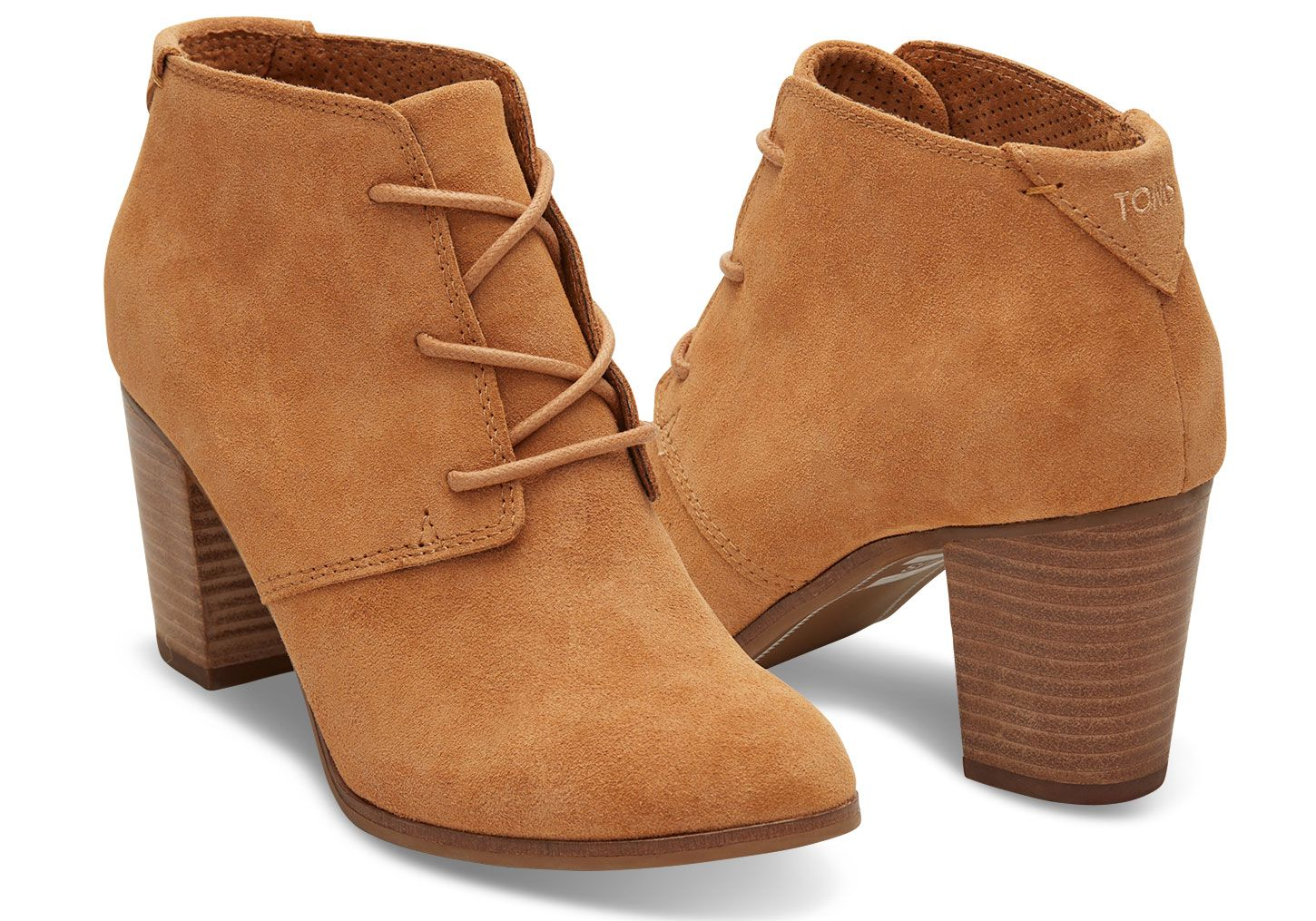0131df5f48c TOMS Womens Lunata Lace Up Bootie in Wheat 11 BM US WheatSuede     Visit  the image link more details.